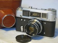 '  4 ' Fed 4 F192  Vintage Rangefinder Camera Cased -NICE- £19.99